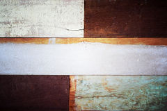 Old color wooden texture background, Vintage style process. Stock Photography