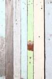 Old color wooden wall Royalty Free Stock Photography