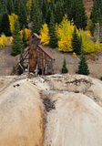 Old Colorado Gold Mine Stock Photography