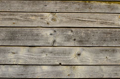 Old colored boards Royalty Free Stock Images