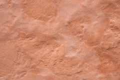 Old Colored Concrete Wall Stock Photo