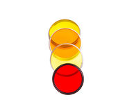 Old colored light photofilters. Royalty Free Stock Photography