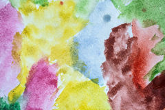 Old colorful background wet Royalty Free Stock Photo