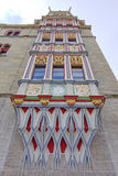 Old colorful building detail in Halle an der Saale Royalty Free Stock Photography