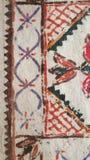 Old Colorful Carpet Background. Old Colorful Vintage Carpet Background Stock Image