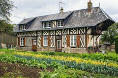 Grigneuseville, Seine-Maritime, Normandy, France. Royalty Free Stock Images