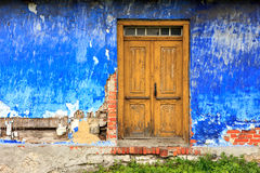 Old colorful house facade Stock Image