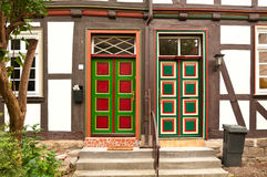 Old colorful housedoors Royalty Free Stock Photography