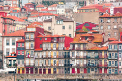 Old colorful houses in Ribeira, Porto, Portugal Royalty Free Stock Photo