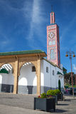 Old colorful mosque in Tangier, Morocco Stock Photography