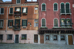 Residential buildings in Venice Royalty Free Stock Image