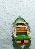 Old colorful rowing boat in Spain Stock Photography