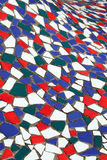 Old colorful tiles Stock Images