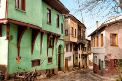 Old colorful turkish houses | Turkey Royalty Free Stock Image