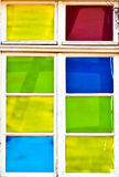 Old colorful window Stock Photography