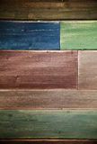 Old colorful wood background Royalty Free Stock Photography
