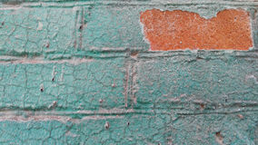 Old colorfull wall. Old wall with a contrasting  colors Stock Photo