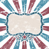 Old Colors American Background Stock Photography