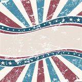 Old Colors American Background Royalty Free Stock Photo