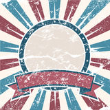 Old Colors American Background. In grunge style Stock Photo