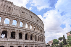 The old Colosseum in Rome, the gladiators fight.  Stock Photo