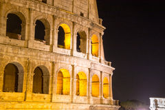 Old Colosseum in Rome, Italy Stock Image