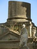 Old column ruin Royalty Free Stock Photo