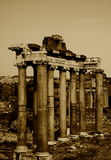 Old columns Stock Images