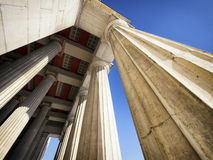 Old columns Royalty Free Stock Images