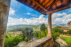 Old columns in Tuscany Royalty Free Stock Images