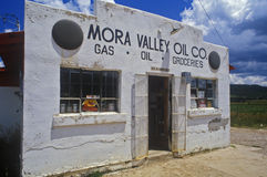 Old combination gas station and grocery store, New Mexico Stock Image