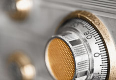 Old combination lock Royalty Free Stock Images
