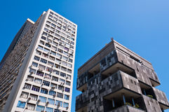 Old Commercial Skyscrapers in Downtown Rio de Janeiro, Brazil Stock Photography