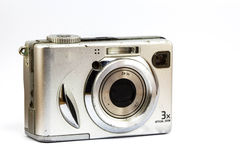 Old compact camera Royalty Free Stock Images