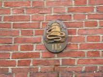 Old company symbol Royalty Free Stock Photography