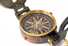 Old compass Stock Photography