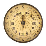 Old compass isolated Royalty Free Stock Image
