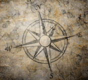 Old compass Royalty Free Stock Images