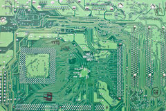 Old computer circuit board. Abstract background with old computer circuit board Stock Photography