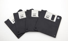 Old computer diskette Royalty Free Stock Photography