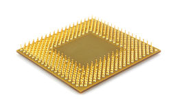 Old computer microprocessor Royalty Free Stock Photos