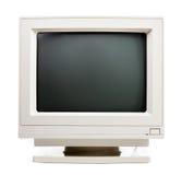 Old computer monitor Royalty Free Stock Photos