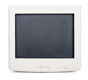 Old computer monitor Royalty Free Stock Photography