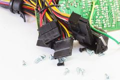 Old Computer Parts Royalty Free Stock Photography
