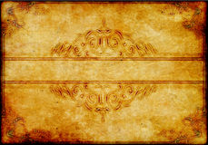 Old Conceptual victorian background with space Stock Images