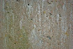 Old Concret Wall. Old wethered concret wall background Stock Images