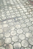 Old concrete block floor background Stock Photo
