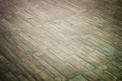 Old concrete block floor Royalty Free Stock Photography