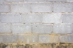 Old concrete block wall background Stock Photography