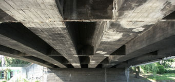 Old concrete bridge Royalty Free Stock Photo
